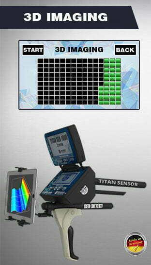 3d imaging search system titan ger 1000