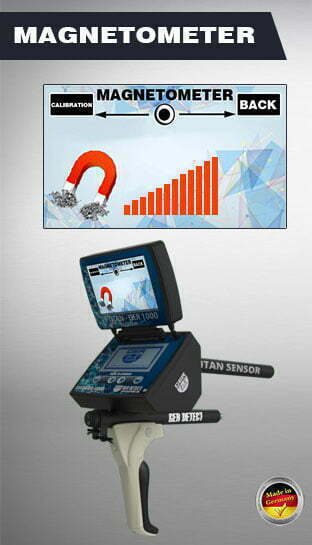 magnetometer search system titan ger 1000
