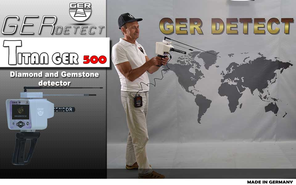titan ger 500 plus diamond gemston detector